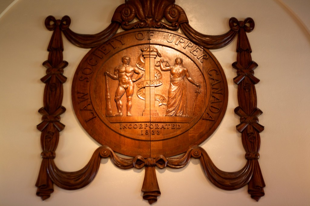 Law Society of Upper Canada Crest