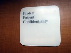 Proteje la confidencialidad del paciente