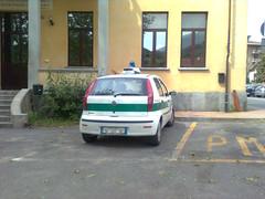 Fiat Punto (TAPS91) Tags: punto fiat polizia municipale condove comune
