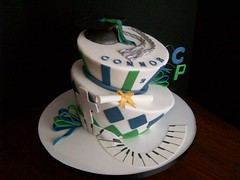 College Park Graduation cake (Baking Sweet Memories) Tags: birthday cake piano graduation mad madhatter hatter topsy turvy bakingsweetmemories