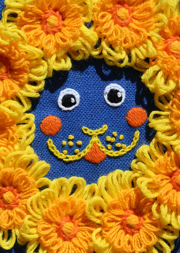 "Its a ""Dandy Lion"" - flower loom picture"