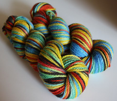 Kente on BFL - 3.5oz