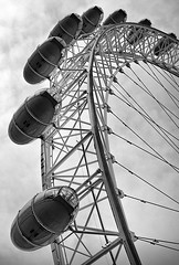 View on London Eye (Alexander Sidorov aka Alex Sidoroff) Tags: london thames nikon londoneye hdr d700