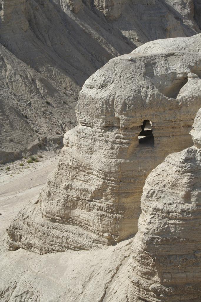 Cave 4 above Qumran