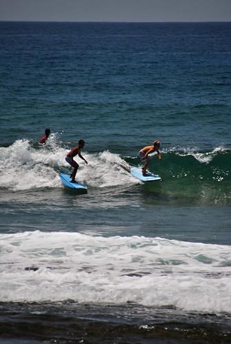 Surfeando al tiempo