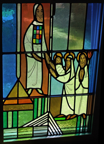 Jesus is Presented Window