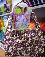 sweet harmony handbag (corinnea's chaos) Tags: bag pattern sewing fabric amybutler hopevalley sweetharmony deniseschmidt