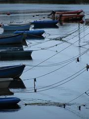 Angeleint (MKP-0508) Tags: blue france water lines boot boat frankreich eau wasser bretagne concarneau bateau cmwd cmwdblue