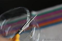 Manualidades: Lámparas o farolillos con botellas recicladas y cinta de pintor
