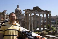 Jose Overlooking the Roman Forum