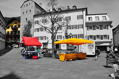 Colorful market square (Turist of the World) Tags: travel bw square austria see am nikon market zell mygearandmepremium
