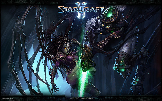 Starcraft 2 Wallpaper netbook laptop