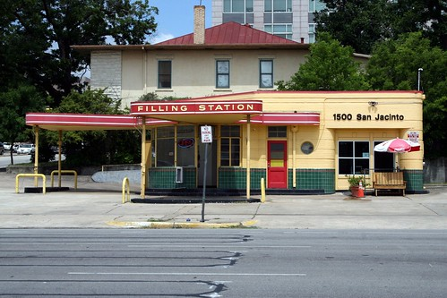 former conoco station in austin