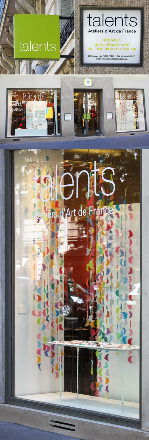 Boutique Talents - Juin 2010