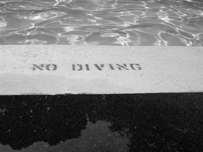 Day 245- No Diving