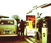 BP Gas Station in West Africa, 1967 (gbaku) Tags: pictures africa old west bus history beer coffee truck volkswagen star photo 60s photos african no isaac picture mobil palm sierra historic smoking gas business lorry photographs sierraleone photograph barry westafrica afrika historical british 1960s petrol bp cocoa texaco leone sixties kernels stations italiana africain afrique petroleum regular geschichte africaine agip petroli azienda generale westafrican pendembu afrikas