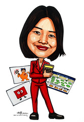 Caricature for Ministry of Manpower (MOM) - amended 2