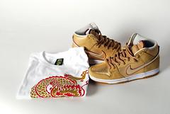 Gold X Nike SB Koston (goran86) Tags: street fashion illustration temple gold design high dragon graphic release tshirt sneakers nike thai hi tee goran sb dunk streetwear koston