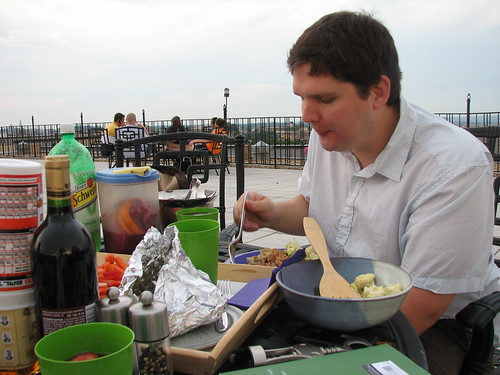dinner on the roof