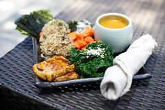 Japanese Maki Bowl (yipe) Tags: brown rice wakame seaweek salad kale nori ume soup samovar lunch brunch delicious japanese maki bowl