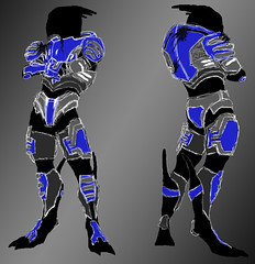 Body Model Garrus Armor (ammnra) Tags: costume masseffect garrus