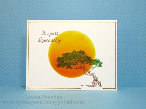 Sympathy One-Layer Card (1)