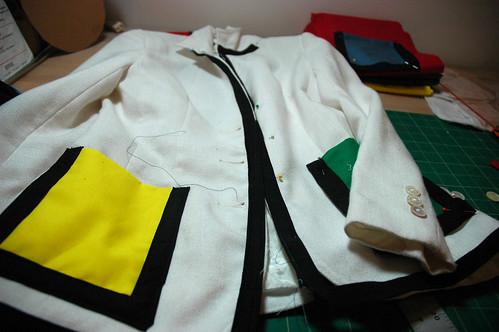 la jacket mondrian roux