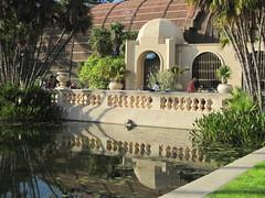 Botanical Building (Kayle's World) Tags: reflections sandiego balboapark lilypond botanicalbuilding lateafternoonlight