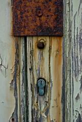 Italia (scarpace87) Tags: old italy broken rust italia country rimini mafia rotto ruggine corruption vecchio serratura paese rivabella corruzione