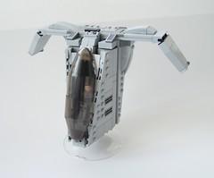 N-VTOL Starfighter (|bl*c|) Tags: starwars ship lego smuggler legostarwars vtol assassin bountyhunter starfighter legoship verticaltakeoffandlanding legostarfighter legovtol
