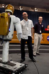 NASA Robonaut 2A with Twitter VP