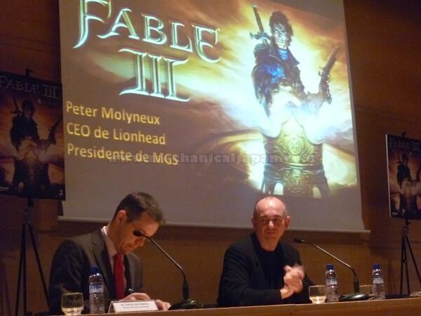 [Evento] Presentación de Fable III por Peter Molyneux en el Salon del Manga de Barcelona 2010