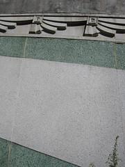 Merritt Parkway Bridge Over CT 110 in Stratford (Ellen Bulger) Tags: road bridge building green public floral architecture vintage design highway connecticut cement engineering structure architectural ornament transportation historical artdeco streamlined roadside deco span stratford preservation merrittparkway stepdown us15 ct110