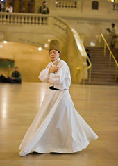 Spinning the Way to My Heart (TomBrooklyn) Tags: newyorkcity grandcentralstation whirlingdervish
