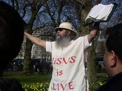 Speakers Corner Jesus is Alive 2-722494