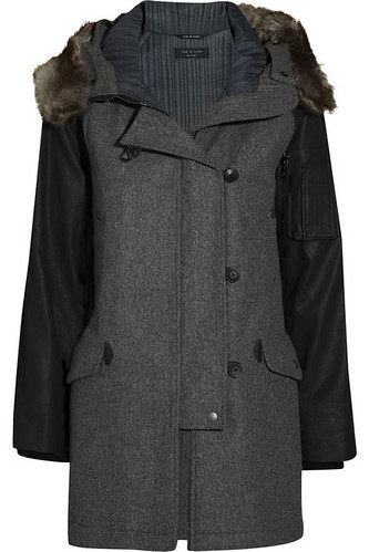 Rag & Bone Waterloo Parka Wool