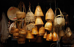 bamboo baskets (Frozen Flame | fzflame.com) Tags: life street travel asia culture daily vietnam viet getty vendor ha hanoi asean nam noi gettyimages vendors gettyimagessoutheastasiaq2