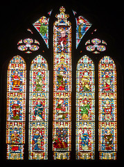 Stained Glass, William Butterfield, All Saints Margaret Street, London