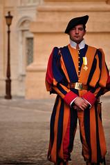 Swiss Guard (rich_walters) Tags: city italy vatican rome roma st square nikon san swiss rich guard richard peters walters pietro basillica d5000 richwalters