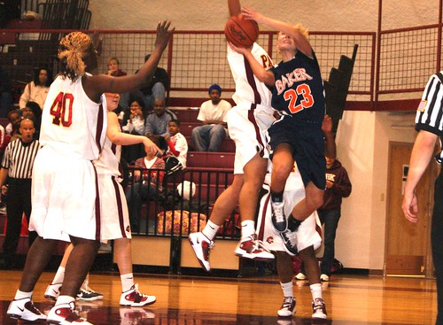 Brittany Hines leads the Baker offense with 15 points per game.