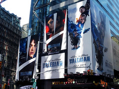 Valerian and the City of a Thousand Planets Billboard Poster 8175 (Brechtbug) Tags: valerian city thousand planets billboard poster times square nyc 2017 french science fiction comics series from 1967 valérian laureline written by pierre christin illustrated jeanclaude mézières film movie directed luc besson new york 07012017