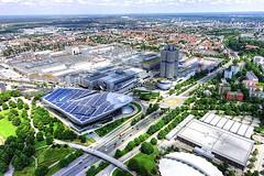 BMW Welt  -  München DSC09019_HDR (Chris Belsten) Tags: bmw bavaria munchen munich welt bmwwelt design industrialdesign architecture industrialarchitecture