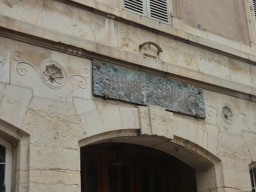 Chambre Commerce - Rue Vergnette de Lamotte, Beaune