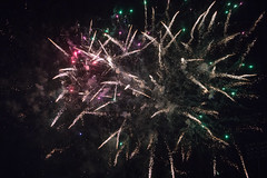 Postgame fireworks at FirstEnergy Park. (apardavila) Tags: classa firstenergypark lakewoodblueclaws milb minorleaguebaseball southatlanticleague baseball fireworks sports