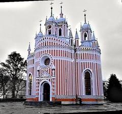 Chesme Church (sftrajan) Tags: church russianorthodox chesmechurch imperialrussia stpetersburg russia èglise architecture iglesia kirche rusland churchofsaintjohnthebaptistatchesmepalace чесменскаяцерковь це́рковьрождества́иоа́ннапредте́чиприче́сменскомдворце́ yuryfelten gothicrevival 18thcentury ю́рийматве́евичфе́льтен rasputin catherineii josephii josefii gustaviii екатеринаалексеевна екатери́навели́кая екатеринаii екатери́наiiалексе́евнавели́кая gothicrevivalarchitecture églisedetchesmé égliseorthodoxe sanpetersburgo rusia tschesmenskerkirche sanktpetersburg russland çeşmenkirkko pietari כְּנֵסִיָה церква