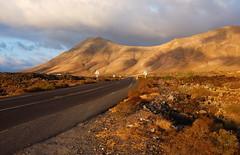 Road (RafalZych) Tags: pano panorama canary island islands spain lanzarote road roadside sunset golden hour shadow long shadows fuji fujifilm x100 route