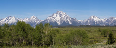 Willow Flats, Grand Teton National Park (repete7) Tags: wyoming unitedstates us grandtetonnationalpark willowflats willowflatsturnout tetons mountains usa canon6d canon24105l landscape spring panorama