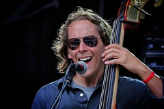 Double bass. (Shoestring Photos) Tags: canadaday georgestreet music doublebass concert