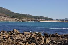 Baroña.#Playa. #Galicia (adribouzada) Tags: galicia playa baroña celtas agua azul mar