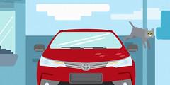 Toyota: O Azarado - cena 04 (Works by Issao Bazolli) Tags: digital vetor vector toyota pinturaexpressa illustration ilustração art desenho characters